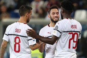 Sassuolo 1-4 AC Milan: Suso tỏa sáng giúp Gattuso tạm yên vị