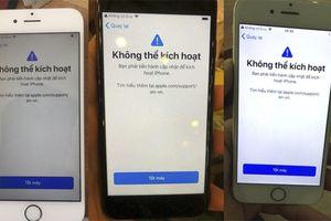 Hàng loạt iPhone tại Việt Nam bị biến thành cục gạch sau khi lên iOS 12