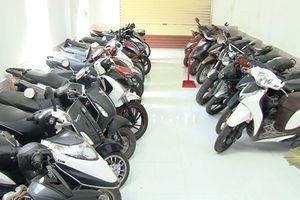Huế: Phát hiện hơn 100 xe máy cầm cố sai quy định