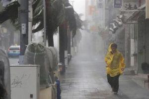 Nhật Bản cảnh báo sơ tán hơn 3,7 triệu người vì bão Trami