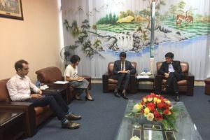 Cục trưởng Cục HKVN Đinh Việt Thắng tiếp Phó Tham tán Kinh tế Cộng hòa Pháp