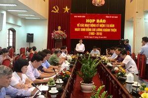 Hà Nam kỷ niệm 115 năm ngày sinh đồng chí Lương Khánh Thiện