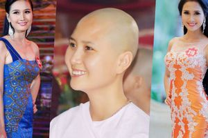 Vẻ đẹp trong sáng của Nguyễn Thị Hà - người có mái tóc đẹp nhất HHVN 2014 trước khi xuất gia