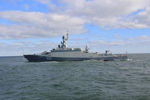 Tàu chiến chống tàu ngầm Nga tiến vào Ấn Độ Dương