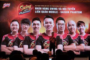 Tuyển esport Sài Gòn Phantom đổi tên thành Swing Phantom