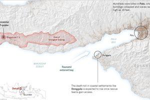 Bất ngờ trước sức tàn phá của sóng thần ở Indonesia