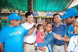 UNICEF hỗ trợ Việt Nam tăng cường năng lực phòng, chống thiên tai