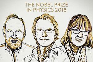 Nobel Vật lý được trao cho 'những công cụ làm bằng ánh sáng'