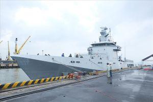 Tàu Hải quân Brunei thăm chính thức TP Đà Nẵng