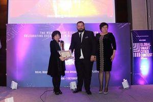 Nữ tiến sĩ Việt Nam giành giải xuất sắc cuộc thi 'quốc gia thông minh' tại Anh