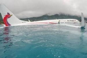 Thông tin bất ngờ vụ máy bay chở 49 người đâm xuống Thái Bình Dương