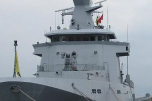 Tàu tuần tra Kdb Daruttaqwa Brunei thăm Đà Nẵng
