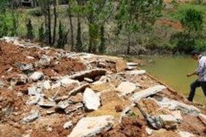 Phá dỡ thêm một công trình xâm phạm thắng cảnh quốc gia hồ Tuyền Lâm