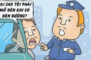 Chiêu 'gậy ông đập lưng ông' của cảnh sát giao thông