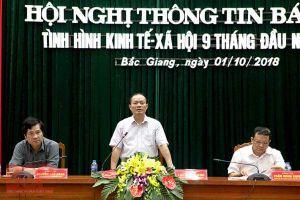 Bắc Giang: Tình hình kinh tế - xã hội quý III/2018 có nhiều tín hiệu tích cực