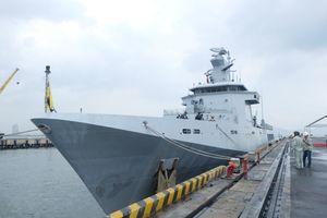Tàu Hải quân Brunei thăm hữu nghị Đà Nẵng