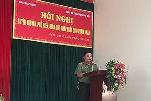 Hà Nội: Tuyên truyền pháp luật cho người đang chấp hành án