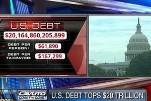 Nợ công của Mỹ lập kỷ lục mới