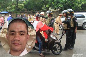 Công an Nghệ An chính thức thông tin vụ việc vây bắt đối tượng ôm lựu đạn cố thủ
