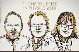 Nhà khoa học nữ thứ 3 đoạt giải Nobel Vật lý