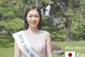 Miss World 2018 xuất hiện thí sinh 'trên trời rơi xuống': Biết 6 ngoại ngữ, học vấn cao, hát opera cực đỉnh...