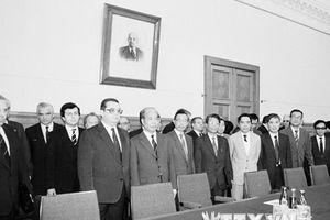 Hình ảnh một số hoạt động đối ngoại của nguyên Tổng Bí thư Đỗ Mười