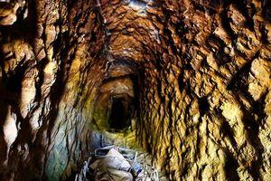 Đột nhập hầm đào vàng trái phép ẩn sâu trong vườn cà phê, thung lũng tại Lâm Đồng