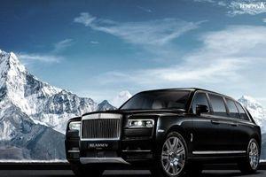 Cận cảnh Rolls-Royce Cullinan bọc thép giá 2,1 triệu USD