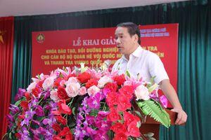 Khai giảng khóa bồi dưỡng nghiệp vụ thanh tra cho Campuchia