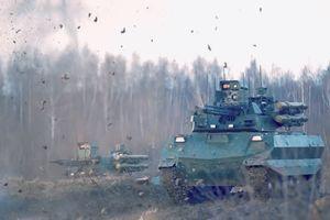 Robot chiến đấu Nga sẵn sàng xung trận
