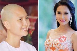 'Người có mái tóc đẹp nhất' Hoa hậu Việt Nam 2014 xuống tóc quy y ở tuổi 24