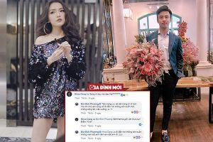Rộ tin Shark Khoa hẹn hò với Bích Phương, tự tay bó hoa tặng nữ ca sĩ 'Bùa yêu'