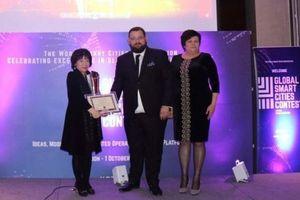 Lần đầu tiên Việt Nam đoạt giải thưởng danh giá tại cuộc thi toàn cầu về 'Quốc gia thông minh'
