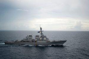 Mỹ 'tố' tàu Trung Quốc áp sát 'không an toàn' gần Trường Sa