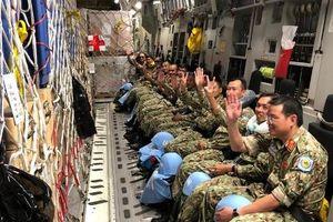Máy bay Úc đưa lực lượng gìn giữ hòa bình Việt Nam đi Nam Sudan
