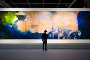 Bức tranh sơn dầu được bán giá kỷ lục 65 triệu USD