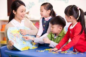 Buồn vui nghề dạy trẻ