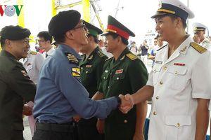 Tàu Hải quân của Brunei cập cảng Tiên Sa - Đà Nẵng