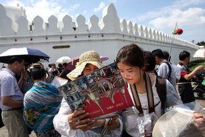 Thái Lan 'lo mất miếng' vì lượng khách Trung Quốc sụt giảm mạnh