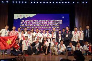 20 học sinh của Hà Nội đều đạt huy chương kỳ thi IMSO 2018