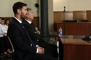 Messi thua kiện vụ gian lận tiền quỹ từ thiện
