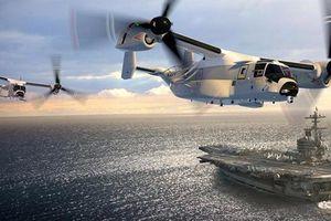 Vì sao Hải quân Mỹ tăng tốc trang bị chim ưng CMV-22B?