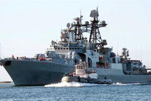 Chiến hạm săn ngầm Nga bất ngờ xuất hiện ngoài khơi Yemen