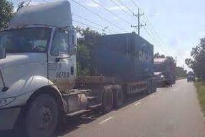 Xử lý xe trọng tải lớn đi vào đường ĐH.8 né trạm thu phí