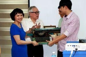 Bảo tàng Báo chí Việt Nam tiếp nhận nhiều hiện vật quý
