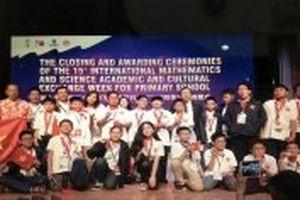 Đoàn học sinh Việt Nam đạt thành tích xuất sắc tại IMSO 2018