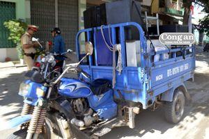 Nguy cơ gây tai nạn từ xe cơ giới 3 bánh
