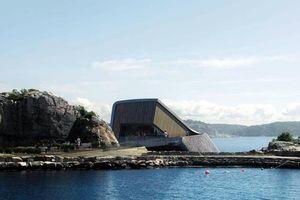 Nhà hàng dưới nước lớn nhất thế giới sắp hoàn thành