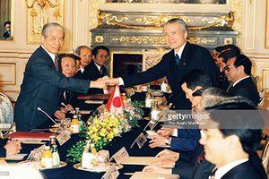 Hình ảnh nguyên Tổng Bí thư Đỗ Mười bên các nguyên thủ thế giới
