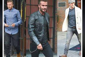 Gu thời trang sành điệu của David Beckham khi dự lễ ra mắt xe VinFast